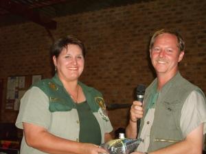 Kobus en Michelle Joubert